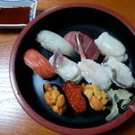 16029925 - とも恵寿司(1575円)2012年11月。