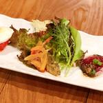 ソニョーポリ - 前菜。