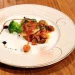 ソニョーポリ - 白身魚のソテー。
