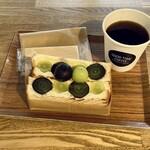 GOOD TIME COFFEE - フルーツカスタードサンド・ドリップコーヒー