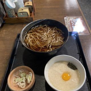 高橋家 - 料理写真:とろろそば before('21/10/20)