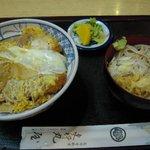 更科丸屋 - カツ丼