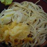 更科丸屋 - カツ丼の冷やし蕎麦