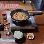 鳥よし - 料理写真:鶏ちゃん、首肉ちゃん、ご飯大 1,450円
