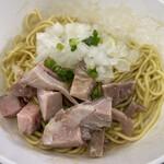 煮干し中華そば 魚魚 - 和え玉 200円