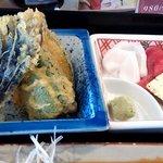 すし処わさび亭 - 刺身と野菜の天ぷら