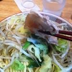 みやべ食堂 - 野菜と大き目の豚肉