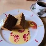 グレイン - シフォンケーキ、コーヒー