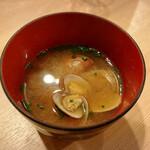 160311769 - アサリお味噌汁