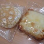 有のパン - パンは基本的に袋に入って売ってます