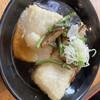龍頭之茶屋 - 料理写真:お雑煮の揚げ物3つ
