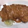 肉のますゐ - 料理写真:「サービストンカツ・赤だしセット」(ライス附、450圓)。