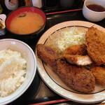 西麻布 三河屋 - 三河屋(ミックス定食)