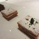 レストランパトリー - 三種のミルフィーユ
