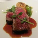 レストランパトリー - 神戸牛を使った料理