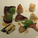 レストランパトリー - 9種の野菜のパナッシュ