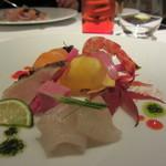 レストランパトリー - 三種の刺身