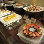 レストランパトリー - 朝ビュフェ:デザート