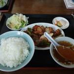 泰山 - 黒酢鶏肉