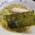 大八 - Aセット 600円  チャーハン+ラーメン(醤油)