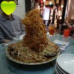 紫福庵 - 料理写真:崩さずに食べるイベントかっ