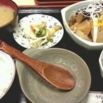 まんじ - ぶり大根定食 2012.11