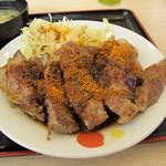 松屋 - 七味 たっぷり 美味しさ倍増