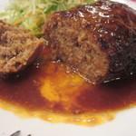 レストラン シマダ - ほどばしる肉汁♪