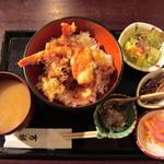 吉蔵 - 料理写真:海老天丼@850円