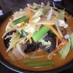 華苑 - 野菜味噌ラーメン780円