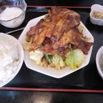 華苑 - ホイコーロ定食780円