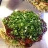 お好み焼もぐもぐ - 料理写真:肉玉0.5玉そば(ねぎ+しそ)