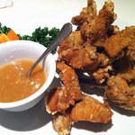 謝甜記 貮号店 - 梅みそ付き鶏の唐揚げ