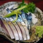 丸千葉 - 料理写真:〆鯖~☆