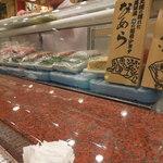 金沢まいもん寿司 - ネタケース