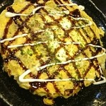 どんどん亭 - 牡蠣お好み焼き
