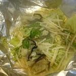 どんどん亭 - 牡蠣ホイル焼き