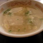 紅龍門 - スープ