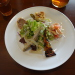 ラ・クローチェ - new ランチB(1200円)の前菜5種盛り合わせ