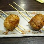 大衆居食家 しょうき - 半熟卵豚巻き串