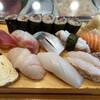 鮨むらさき - 料理写真:今日は鯖が良かった!にぎりの鯖に巻物の鯖も最高でした。
