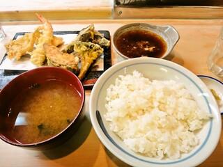 天すけ - ランチA定食 900円