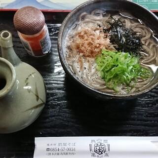 亀嵩駅の手打そば 扇屋 - 料理写真: