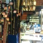 レストランかのう - 店内には、釣り具が!!