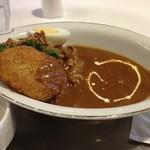 武蔵野茶房 - カレーランチ 950円 カレーコロッケ付き