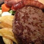 ステーキのどん - こだわりハンバーグ&粗挽きソーセージ!