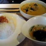 タイレストラン 沌 - グリーンカレー ランチ