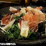 16047042 - 生ハムと魚介のシーザーサラダ