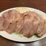 広東料理 東田 - 茹で豚チャーシュー(550円)