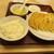 ぎょうざの満洲 - 料理写真:W餃子定食650円。